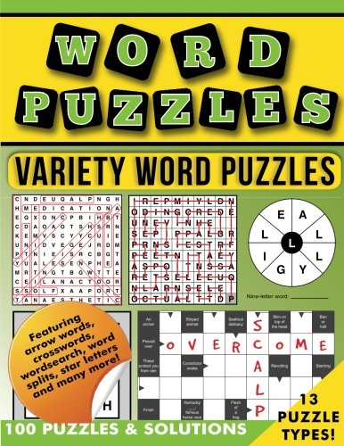 Word Puzzles: Variety word puzzles & solutions pdf epub