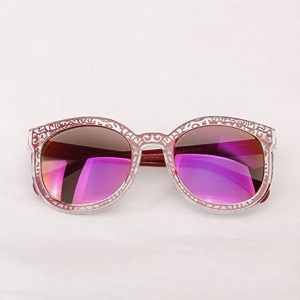 Gafas de sol @Gafas Gafas de sol de Color Estilo Retro Gafas ...