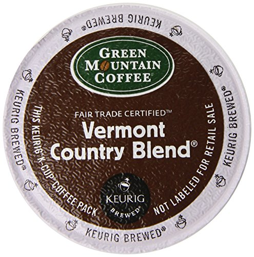 Country K-cups Vermont Blend (Green Mountain Coffee K-Cup Portion Pack for Keurig K-Cup Brewers, Vermont Country Blend (Pack of 96))