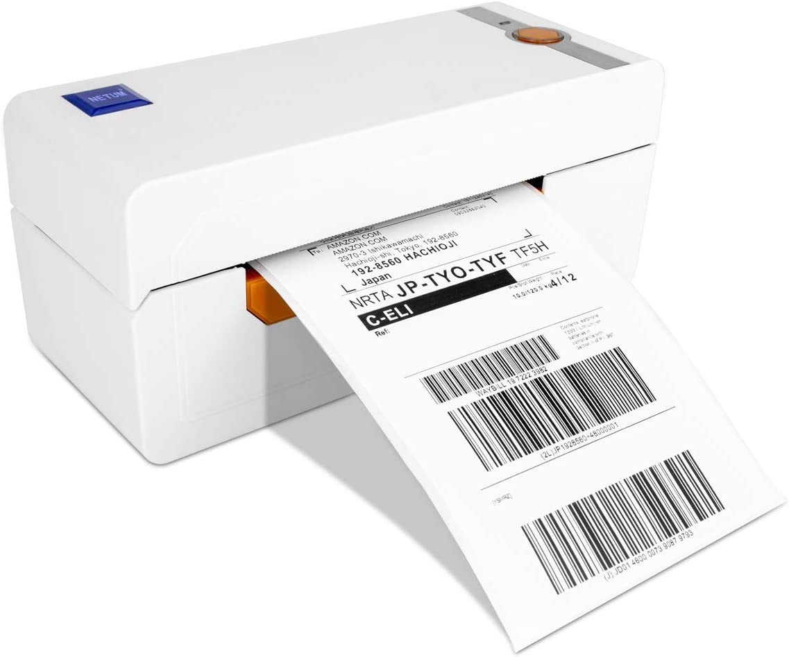NETUM Label Printer, High Speed Commercial Grade Direct Thermal Printer, 4×6 Printer, Barcode Printer, Compare to Dymo 4XL, Compatible with Ebay,Amazon,USPS,Etsy,Shopify