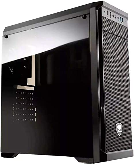 COUGAR Gaming MX330 Midi-Tower Negro - Caja de Ordenador (Midi-Tower, PC, Negro, ATX,Micro ATX,Mini-ITX, 15,5 cm, 35 cm): Amazon.es: Informática