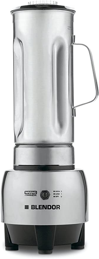 Waring Commercial Hgbss 1 2 Gallon Food Blender With 64 Ounce Container Stainless Steel Electric Countertop Blenders Kitchen Dining