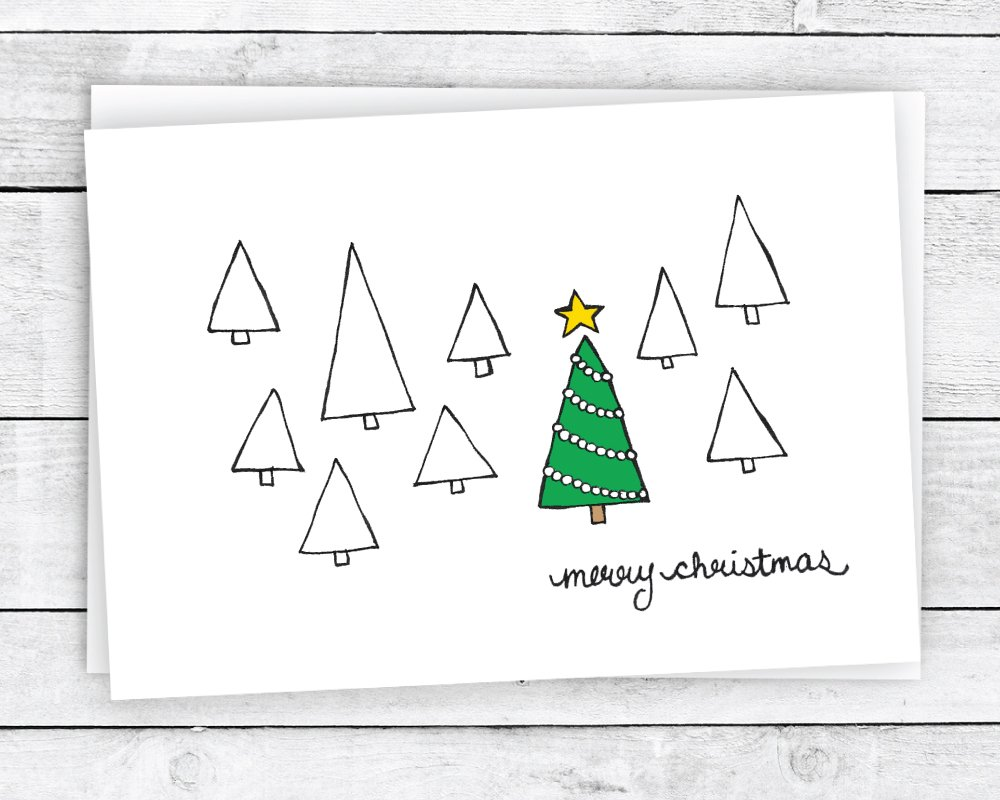 Amazon Merry Christmas Greeting Cards Collection 24 Cards