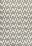 Couristan Monaco Collection Avila Rug, Ivory/Sand, 2 by 3-Feet