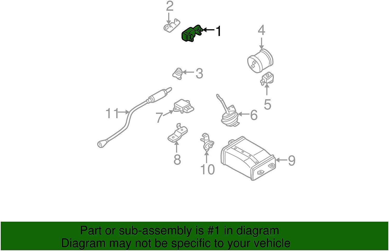 Nissan 14930-8U30A Vapor Canister Purge Solenoid
