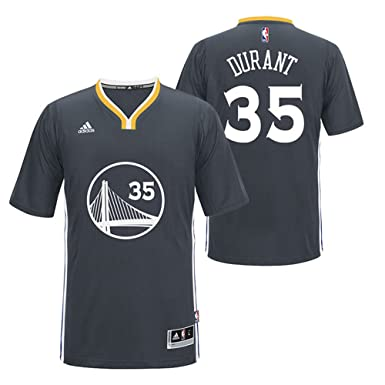00e2af6811c3 Kevin Durant  35 Golden State Warriors Adidas Youth Swingman Carbon Jersey ( Small)