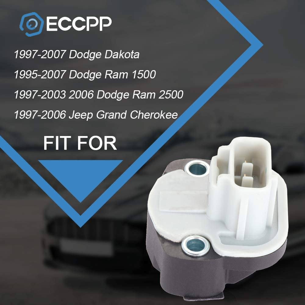 1997-2003 2006 Dodge Ram 2500 ECCPP Throttle Position Sensor TPS Fit for 1997-2007 Dodge Dakota 1997-2006 Jeep Grand Cherokee 5017479AA Automotive Replacement Sensor 1995-2007 Dodge Ram 1500