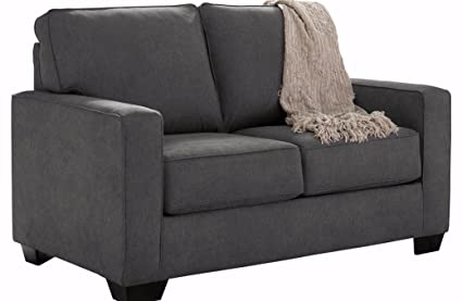 Ashley Furniture Signature Design - Zeb Sleeper Sofa - Contemporary Style Couch - Twin Size -  sc 1 st  Amazon.com & Amazon.com: Ashley Furniture Signature Design - Zeb Sleeper Sofa ...