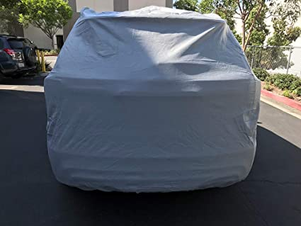 Dustproof for Honda Pilot 2016-2021 Full Car Cover Waterproof Windproof