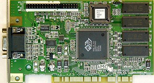 ATI 109-40600-10 VGA RAGE II PCI VC (Ati Rage Ii)