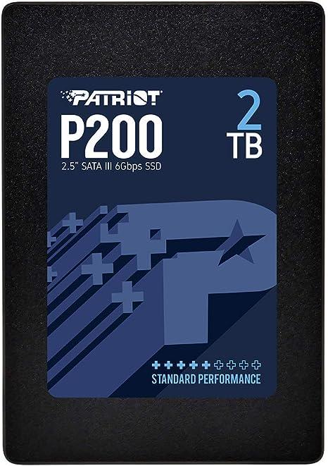 Patriot P200 Disco sólido Interno de 2 TB, SATA III SSD, con hasta ...