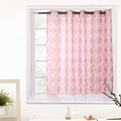 Amazon.com: Silk Road Semi-Shading Curtain Bedroom Bay ...