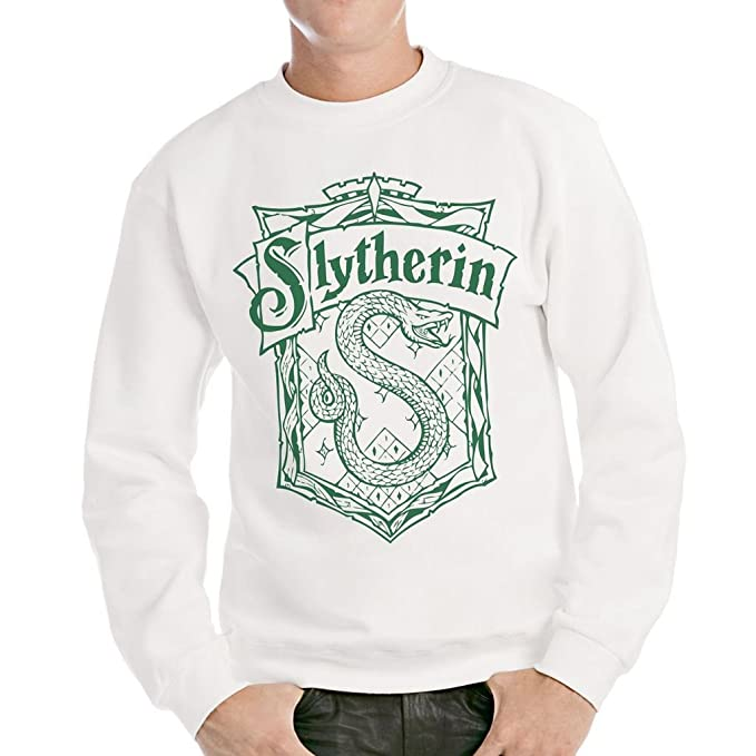 Felpa girocollo SLYTHERIN HARRY POTTER - FILM by MUSH Dress Your Style -  Uomo-L
