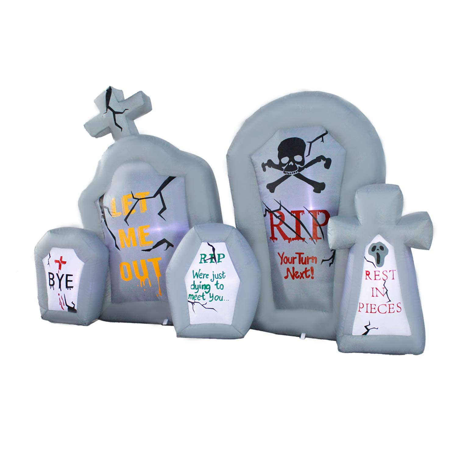 Amazon.com: Seasonblow - Piedra inflable para Halloween ...