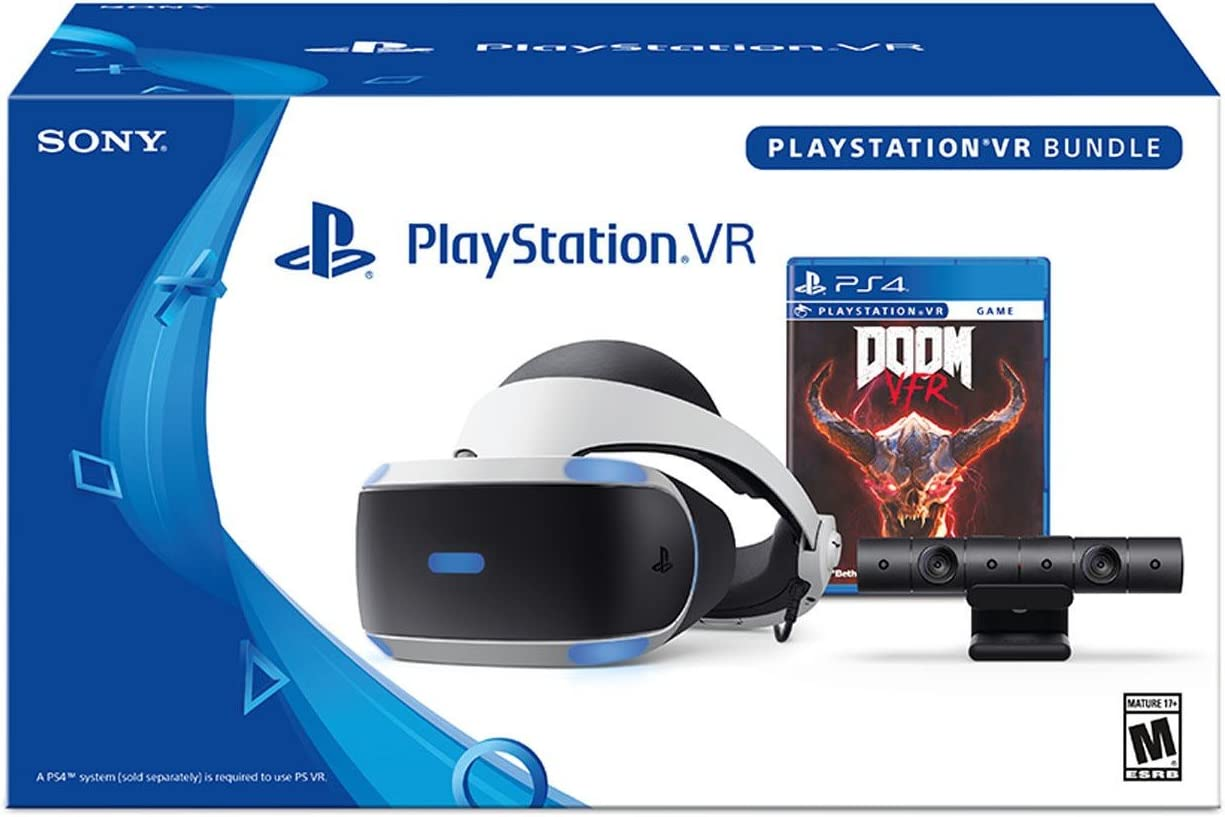 PlayStation VR Racing Bundle (4 artículos): PlayStation VR ...
