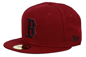 check out 4f5b3 aefc5 New Era - Boston Red Sox - 59fifty Cap - Cardinal Collection - Red - 7