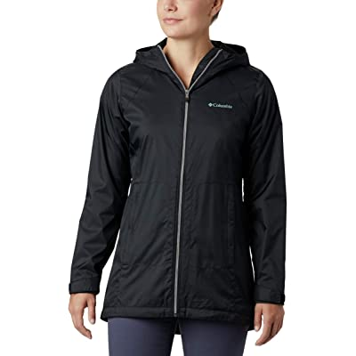 Columbia Women's Switchback Lined Long Jacket w/ Waterproof Shell: Clothing