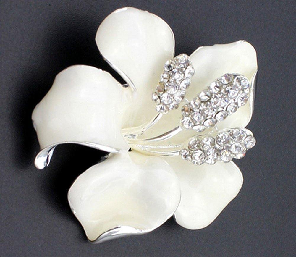 Jingyuu Spilla a forma di fiore di giglio colore: rosa adatta per occasioni di festa e matrimonio