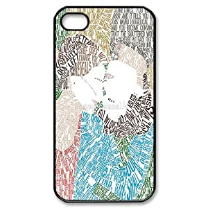 FOR Iphone 4 4S case cover -(DXJ PHONE CASE)-Okay?Okay - The Fault In Our Stars-PATTERN 13