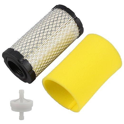 Harbot Filtro de aire con filtro de combustible prelimpiador para ...