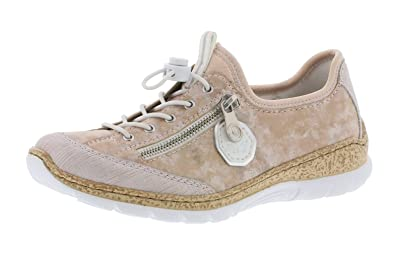 2963e9dff5c69f Rieker N4263 Femme Chaussures à Enfiler,Slip on,Chaussures à Enfiler,Slip-