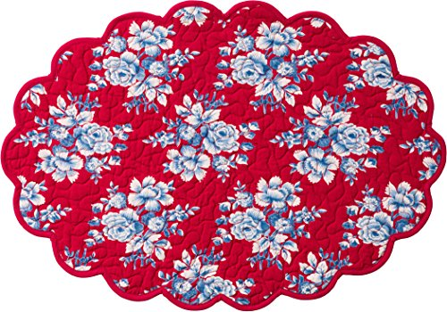 oval quilted placemats - 5