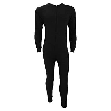 MENS THERMAL ALL IN ONE JUMPSUIT ONESIE FRONT FASTENING BODYSUIT PLAYSUIT  SKI SNOW SPORT ACTIVE WARM WINTER BASELAYER UNDERWEAR  Amazon.co.uk   Clothing 2f74c259e