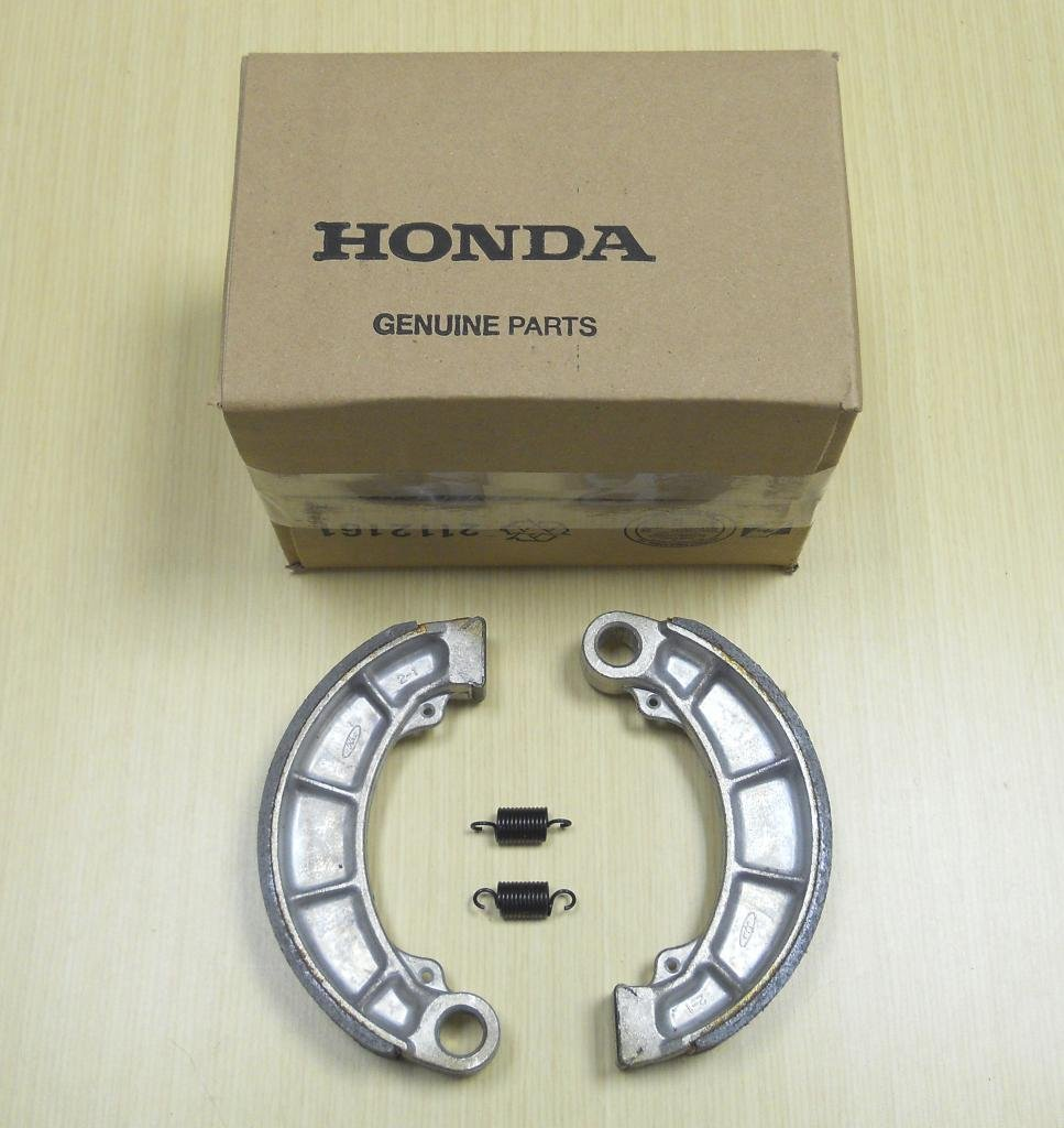 New 2000-2006 Honda TRX 350 TRX350 Rancher ATV OE Rear Brakes Brake Shoes