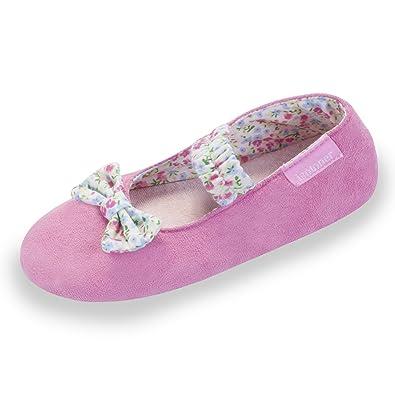 5984c81c525 Isotoner Chaussons Ballerines Fille 33  Amazon.fr  Chaussures et Sacs