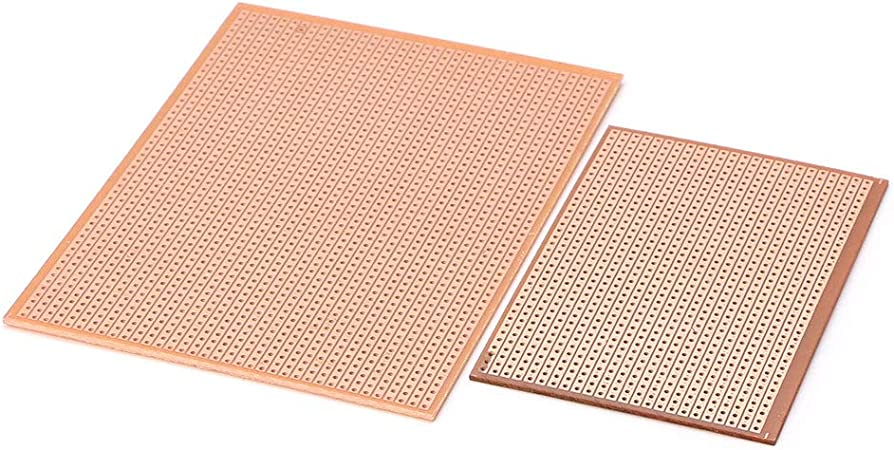 Paquete De 25 Tira de Cobre de Prototipo tablero Vero Board 64 Mm x 95 mm