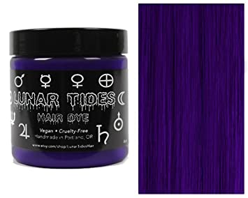 Amazoncom Lunar Tides Hair Dye Nightshade Dark Purple Semi