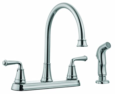 design house kitchen faucets. Design House 524710 Eden Kitchen Faucet With Sprayer  Polished Chrome