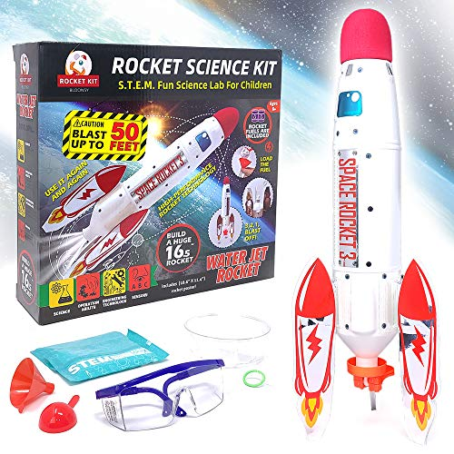 BLOONSY Water Rocket Kit | Water Rockets for Kids | Toy Rocket Launcher for Kids