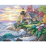 Peinture par numéro de Kit de 20 « X 16 »-gardien de la mer