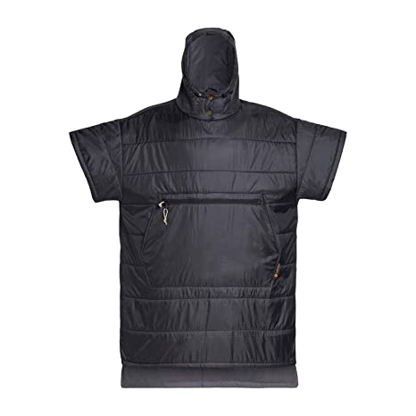 Stay Warm and Dry Before and After Surfing - Absorbent Microfiber Towel on The Inside Water-Resistant Ripstop on The Outside VOITED Surf Poncho Wetsuit Change Robe