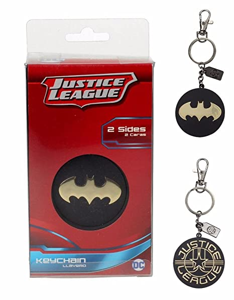 Batman Llavero/Clip de Bolso Justice League - Logotipo ...