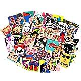 Sexy Girls Women Stickers Decals Vinyl Art Work Vintage Retro Stickers For Bumper Guitar Decals Phone Case Luggage Skateboard (52pcs Sexy Stickers)