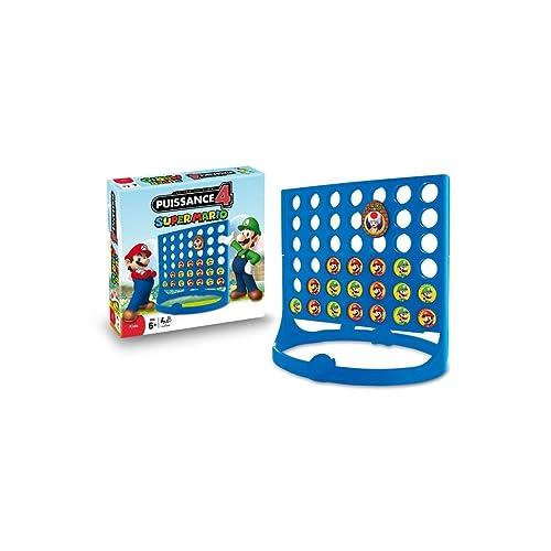 Winning Moves - 0915 - Jeu De Société - Puissance 4 Nintendo Mario