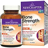 New Chapter Bone Strength Calcium Supplement, Clinical Strength Plant Calcium with Vitamin D3 + Vitamin K2 + Magnesium - 240 ct Tiny Tabs