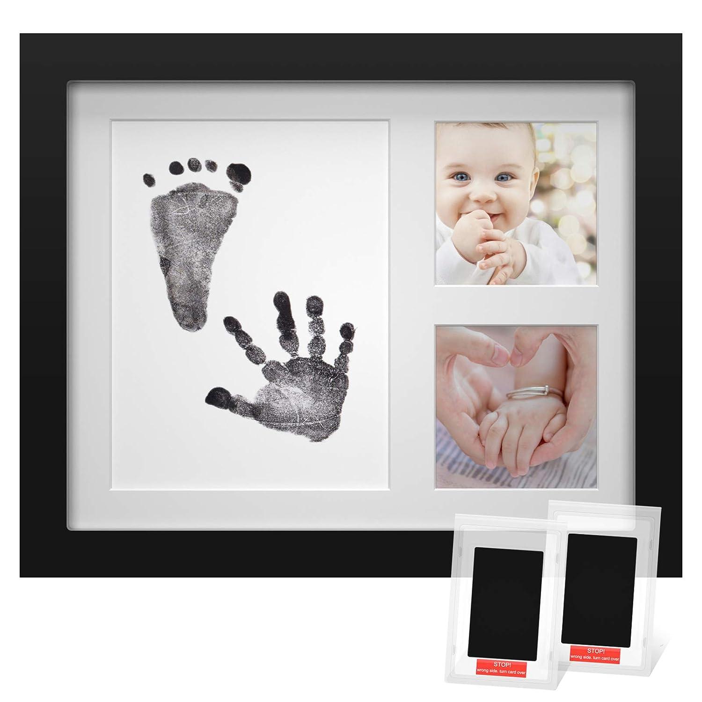 Cherished Baby Handprint /& Footprint Ink Photo Frame /& Newborn-safe Ink Pad NEW