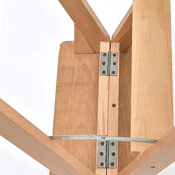 GBX Taburete de Peldaño Multifuncional para el Hogar, Taburete de Peldaño Plegable Escalera Taburete Escalera de Madera Maciza Multifunción Escaleras Antideslizantes Seguras, E, Patas de Madera de Co: Amazon.es: Bricolaje y herramientas