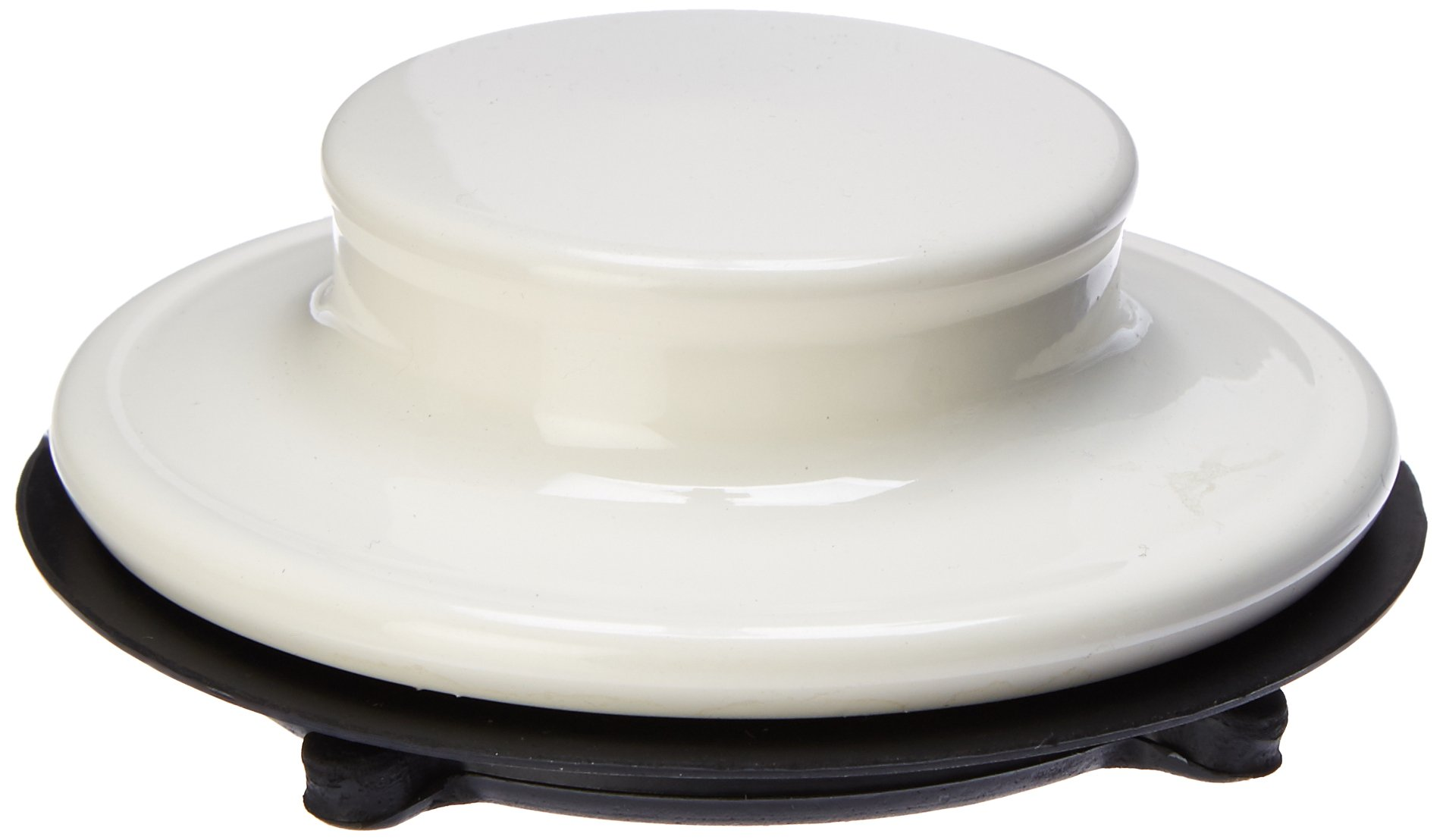 Waste King 3165 3-Bolt Mount Sink Flange Stopper, Biscuit by Waste King