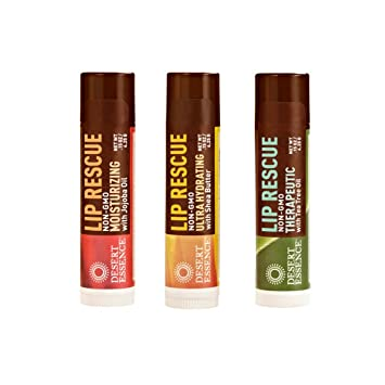 2 Pack - Desert Essence Lip Rescue with Shea Butter 0.15 oz 3 Pack - StriVectin 360 Tightening Eye Serum 1 oz