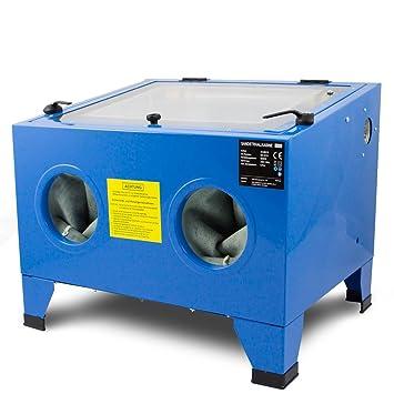 bituxx® Arena Inyección cabina 90 L Arena rayos la Industria mesa Arena Inyección dispositivo: Amazon.es: Bricolaje y herramientas