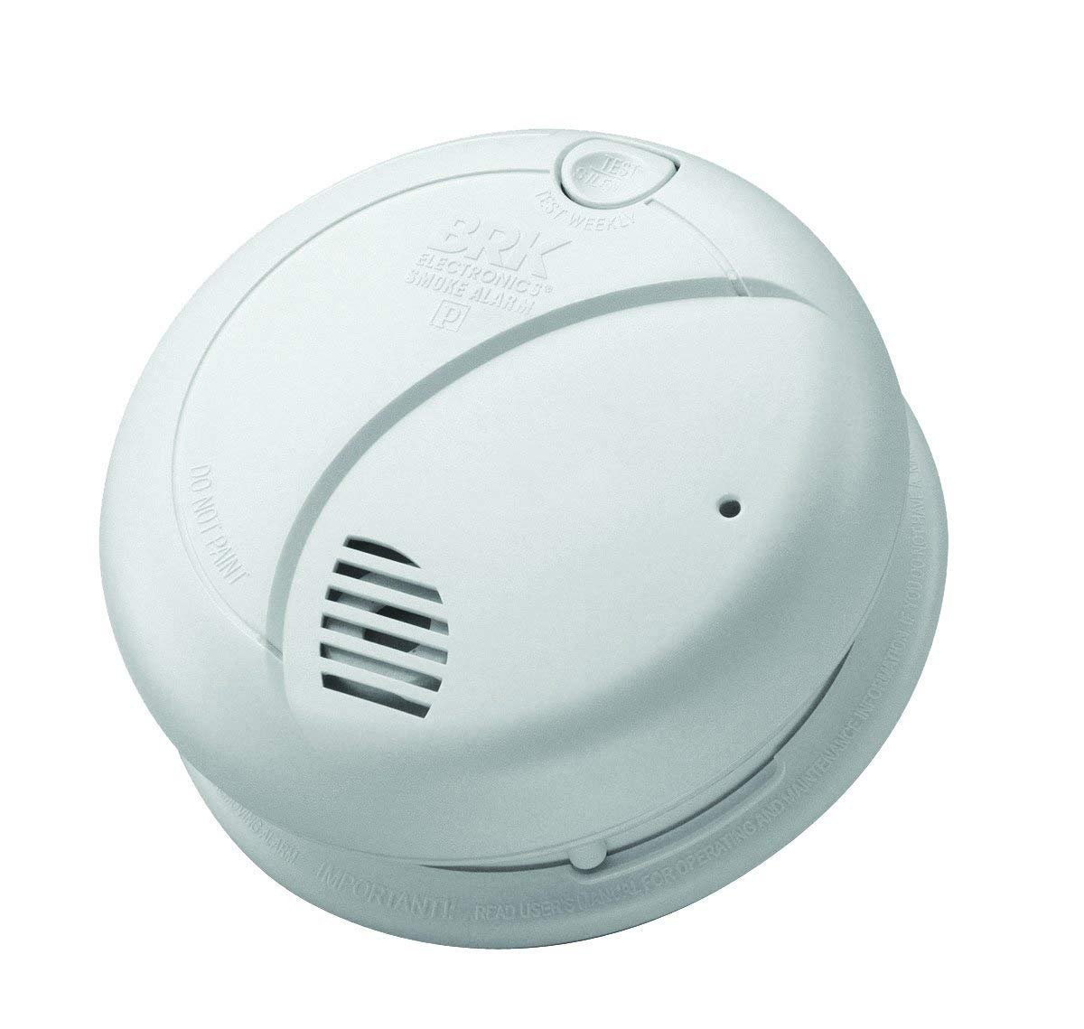 Brk 7010BE Optical Sensor - Smoke Detector (AC/Battery, 9 V ...