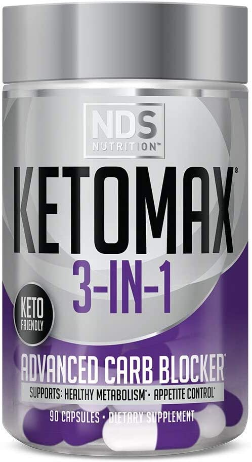 NDS Keto-Max Advanced 3-in-1