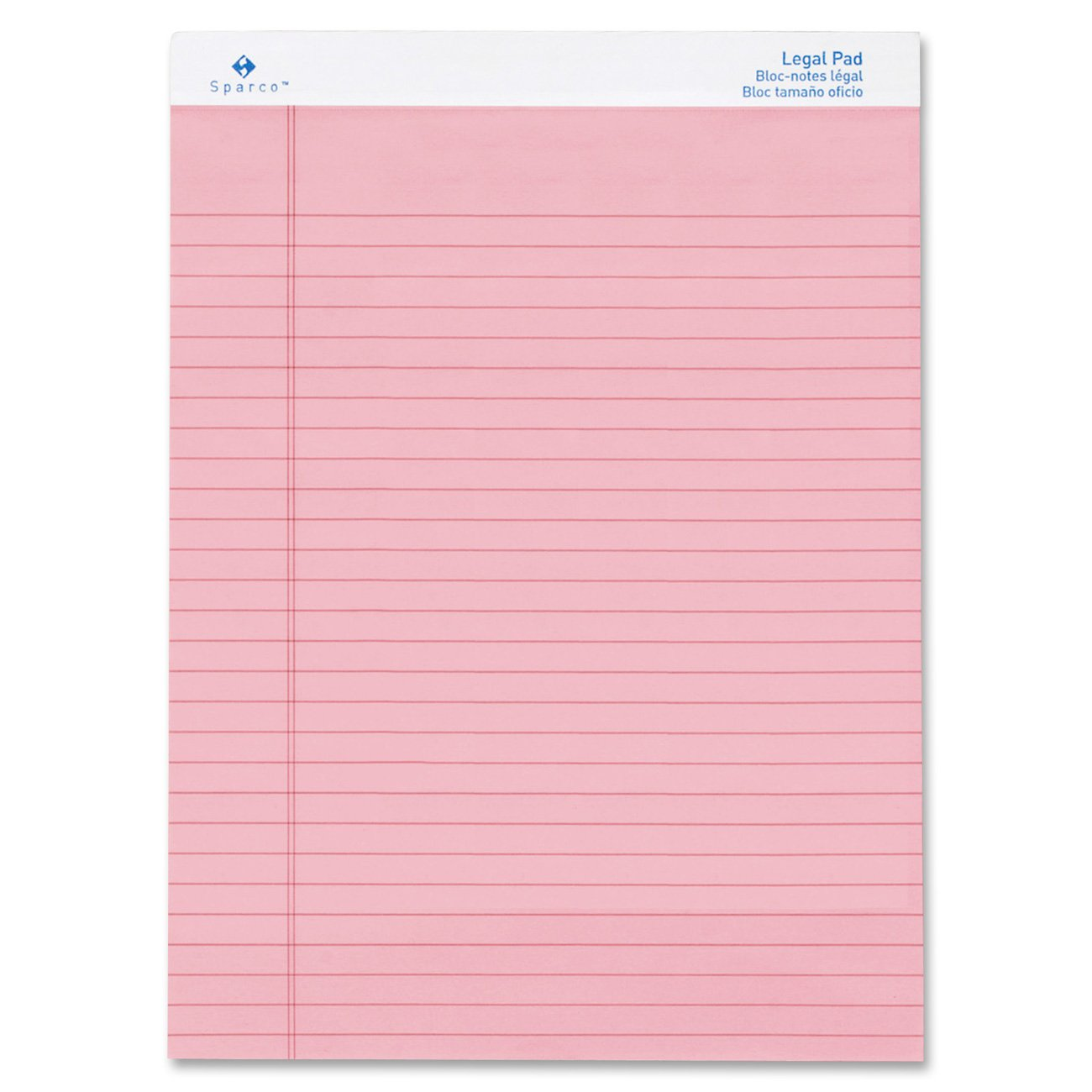 Sparco Rose Legal Ruled Pads by Sparco