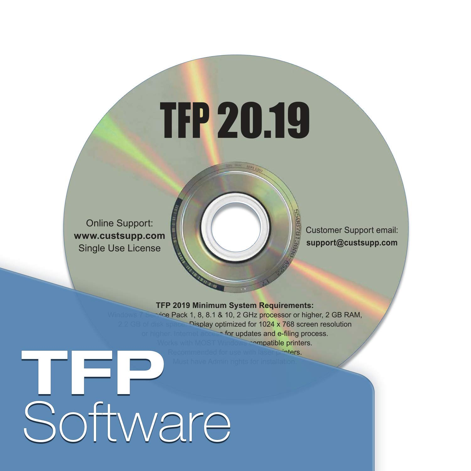 TFP 1099 & W2 Forms Software for Small Business (2019) by TFP for Small Business