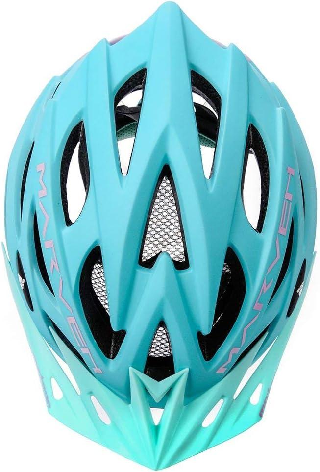 Meteor Casco Bici Ideale per Giovani e Adulti Donna e Uomo Caschi Perfetto per Downhill Enduro MTB Scooter Helmet per Tutte Le Forme di attivit/à in Bicicletta Marven