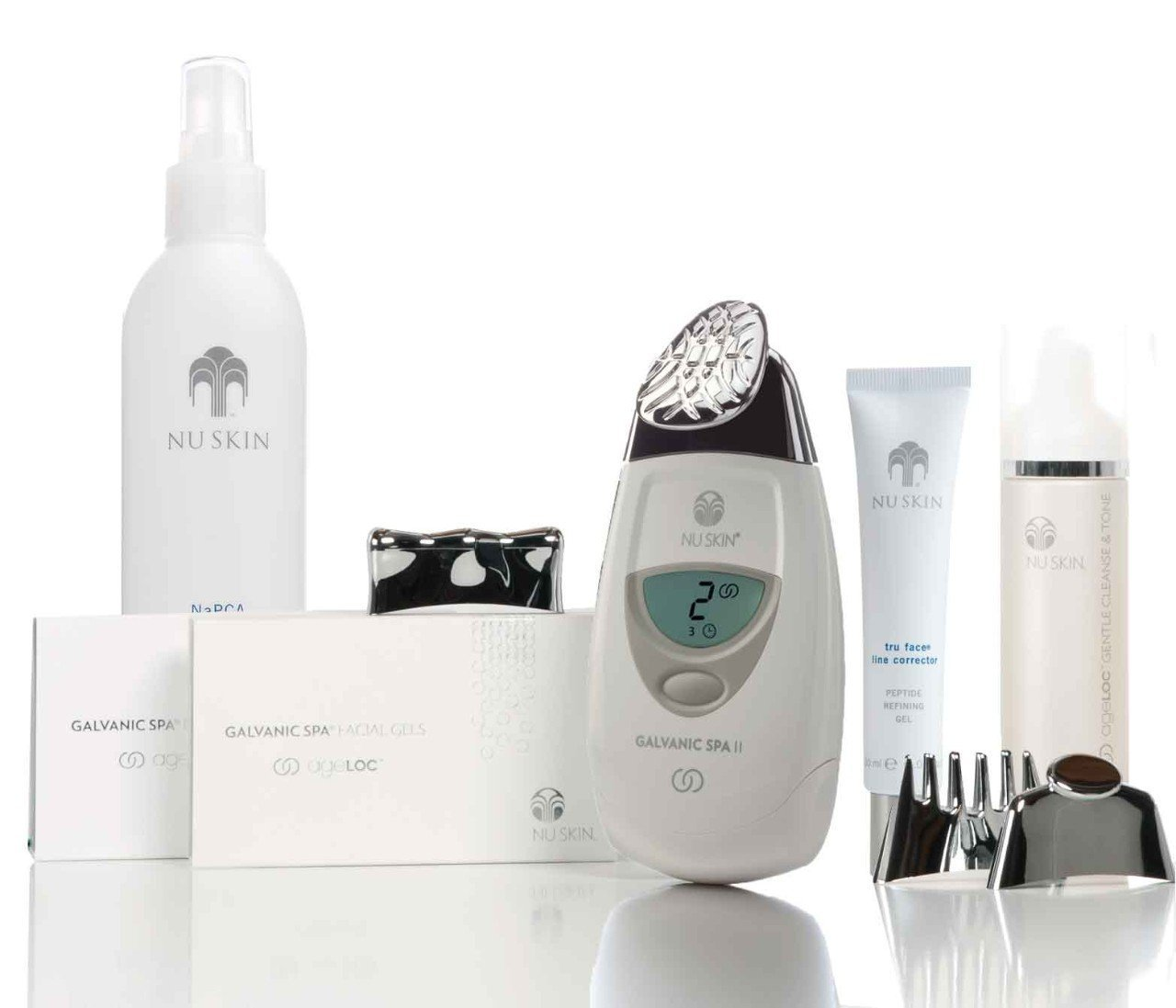 Nu Skin reDESIGN Galvanic Face Spa White Package